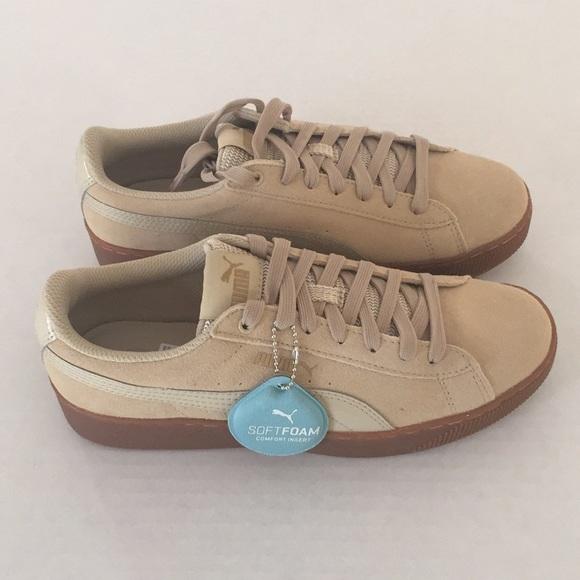 Puma Shoes | Puma Vikky Platform Pebble